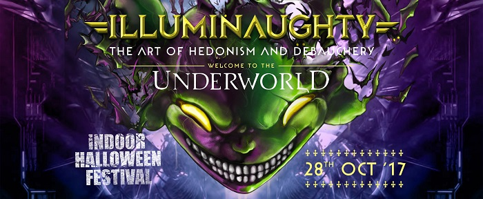 IllumiNaughty presents : Underworld indoor Festival