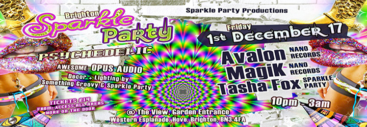 Psychedelic Sparkle PARTY Launch (fundraiser)
