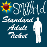 Small World Summer Festival 2017 <BR><BR> Adult - Standard  Ticket over 18 yrs <BR> <BR>Click here for more information