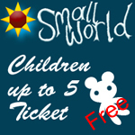 Small World Summer Festival 2017 <BR> <BR> FREE Child Ticket up to 5 Years old.<BR>Child ticket can only be ordered with  Adult ticket
