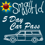 Small World Summer Festival 2017  <BR><BR> 5 day  Vehicle Pass (Non Live-in )