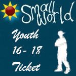 Small World Summer Festival 2017 <BR><BR> 5-day Youth Ticket 16 - under 18 years. Please bring bring photo id<BR> <BR>Youth ticket can only be purchased with  Adult ticket