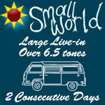 Small World  Summer Festival 2017 -<BR>2  Consecutive Day <BR><BR>  Large Live-in (over 6.5m) / Large Caravan<BR>Click here for more information