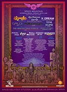 Space Mountain - International Cosmic Arts Lab<BR> Weekend  Party  Pass