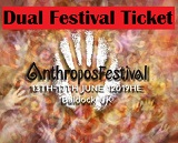 Anthropos Festival Early Bird Dual ticket (two tickets in one)