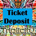 Triplicity Music & Arts Festival 2019  Deposit Scheme for The Organised Hippy Ticket  Balance to be paid at Festival Gate box office. Read  Terms